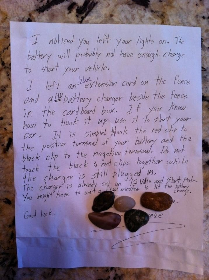 Random acts of kindness 5